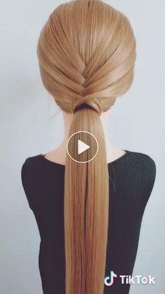 Estilo de cabelo 髪 髪 😍 た # い い 😍 # 長 い 髪, # - # # 長 い 髪 # 長 髪 髪 型 し い い いComo Trançar ? 20 Tutoriais das mais belas tranças no cabelo Hairstyles em 2019 - Arte no Papel Online Cute Hairstyles, Braided Hairstyles, Wedding Hairstyles, Hair Videos, Hair Trends, Bridal Hair, Curly Hair Styles, Beauty Hacks, Hair Beauty