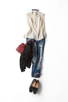 Kyoko Kikuchi's Closet | 今、私がいいと思うブラウススタイルってこういう感じ