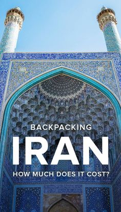 Interested in backpacking in Iran? Here's how much money we spent backpacking in Iran for two months, including a city-by-city breakdown of costs, average cost Travel Guides, Travel Tips, Travel Destinations, Travelling Tips, Travel Stuff, Iran Travel, Asia Travel, Eastern Travel, Abu Dhabi