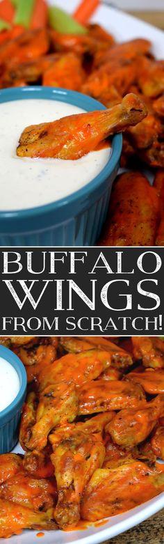 Buffalo Wings from Scratch