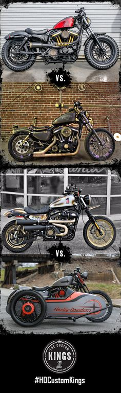 Round two of the #HDCustomKings Sportster competition is underway. Who will win the crown? Vote daily! | Harley-Davidson #HDCustomKings Mid-Atlantic Region
