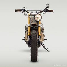 The walking dead Honda built by classifiedmoto - Honda Cafe Racer Enduro, Scrambler Motorcycle, Motorcycle Style, Cafe Racers, Triumph Sprint, Honda Nighthawk, Honda Cb750, Yamaha Yzf, Moto Cafe