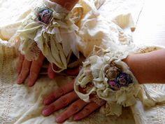 Cuff, victorian,mori girl, lace cuff,tattered cuff, shabby chic, jane austen,fairy punk,cream vintage romance, women accessoires,ruffle cuff by radusport on Etsy https://www.etsy.com/listing/202885048/cuff-victorianmori-girl-lace