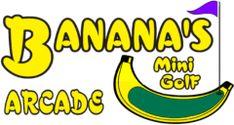 About Us - Banana's Mini-Golf & Arcade Burger King Logo, Long Beach, Mississippi, Arcade, Traveling, Golf, Banana, School, Mini