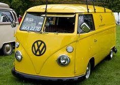 Thirlestane 2011.  Yellow VW