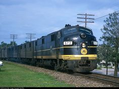 RailPictures.Net Photo: SCL 573 Seaboard Coast Line EMD E7(A) at Unknown, Florida by Ted Ellis