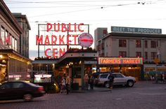 I <3 Seattle's Pike Place Market.