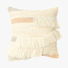 Minna Wool Fringe Elizabeth I Woven Pillow from Dear Keaton