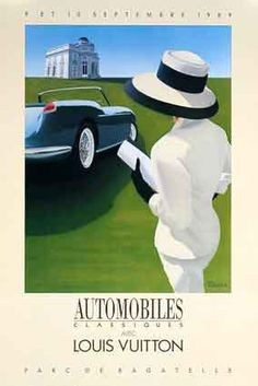 Vintage Razzia Cars Poster