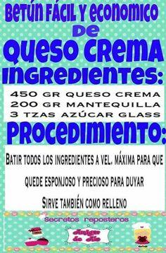 Betun de queso crema