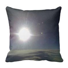 Sun form the sky throw pillows