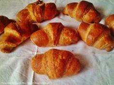 Συνταγή ΚΡΟΥΑΣΑΝ ΒΟΥΤΥΡΟΥ Pretzel Bites, Bread, Food, Brot, Essen, Baking, Meals, Breads, Buns