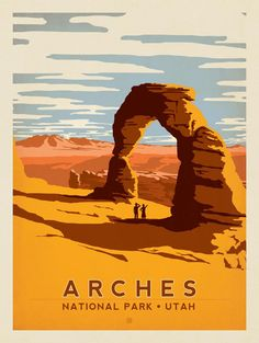 Anderson Design Group – American National Parks – Arches National Park