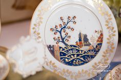 The Miramare Castle is a castle, built for Austrian Archduke Maximilian Habsburg and his wife. Painted with the harmony of rich gold and oriental blue. Tea Cup Saucer, Tea Cups, Maximilian I, Archduke, Royal Garden, Coffee Set, Dinner Sets, Modern Luxury, Good Company