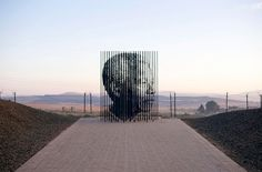 Nelson Mandela Memorial By Marco Cianfanelli Serena Williams, Nelson Mandela Quotes, Places Worth Visiting, South African Artists, Celebration Quotes, Art Archive, Statue, Colorful Interiors, Landscape Design