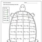 Here is a fun worksheet for practicing adding mixed numbers with like denominators. Kids solve the problems and then color the turtle's shell based. 5th Grade Math, Fourth Grade, Adding Mixed Fractions, Color Puzzle, Fun Worksheets, Math Fractions, Guided Math, Common Core Math, Math Classroom