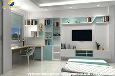 Thiết kế nội thất phòng ngủ trẻ em Mrs. Hà – Khương Trung