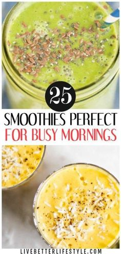 Delicious and Healthy Smoothie Recipes to Boost Up Your Day! Definitely pinning for later! #smoothie #recipes #healthyrecipes #healthyfood