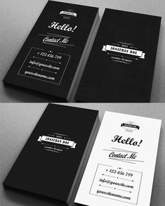 Business Cards Design: 25 Creative Examples - 2