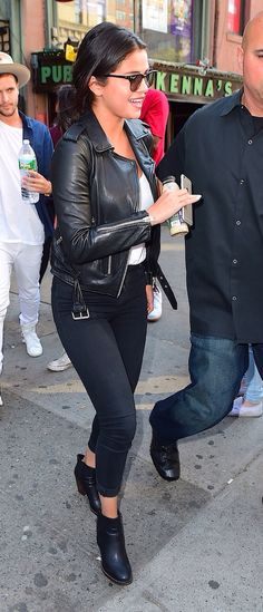 Selena Gomez out in NYC - 2015