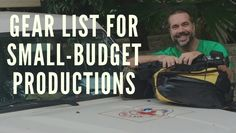 Gear List for Small-Budget Video and Documentary Productions