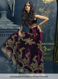 .so elegant #lehenga