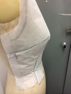 Removing excess stitch and tear