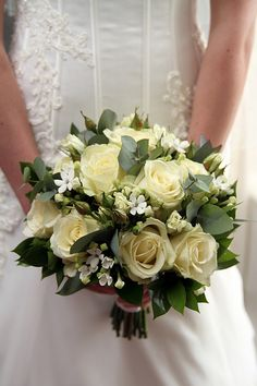 Bridal Bouquet - Northumberland Wedding Photography, Bridal preparation.