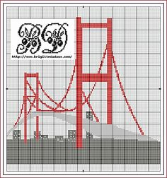 large bridge chart