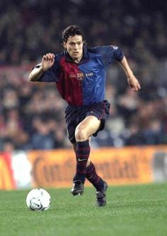 Jari Litmanen played for Barca 1999–2001 scored 3 goals in 21 matches. The Fin had his greatest success with Ajax Amsterdam before coming to Barcelona.