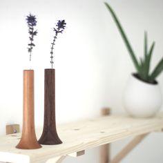 Single Flower Vases by Mitsugu Morita