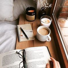 Inspiration❤ - Book and Coffee Autumn Aesthetic, Book Aesthetic, Aesthetic Pictures, Aesthetic Coffee, Night Aesthetic, Book Study, Study Notes, Study Desk, Study Space
