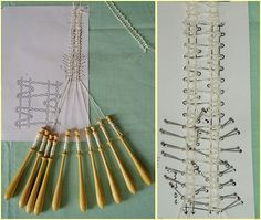 Bobbin Lace Patterns, Lacemaking, Tatting, Projects To Try, Blog, How To Make, New York, Bobbin Lace, Point Lace
