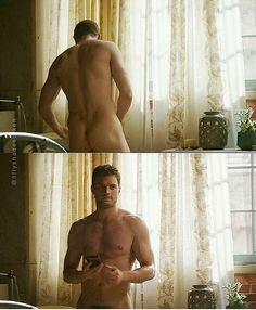 Uhm.........YES PLEASE!!!!!!! The view of Jamie in Fifty Shades Darker