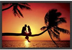 Search Summer Love Posters, Art Prints, and Canvas Wall Art. Barewalls provides art prints of over 33 Million images. Beautiful Sunset, Beautiful Places, Sunset Love, Red Sunset, Beautiful Cover, Beautiful Moments, Astrud Gilberto, Love Frames, Love Posters