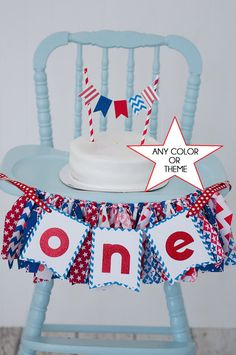 4th of july birthday sign