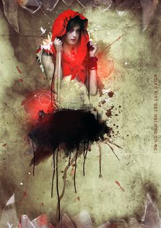 Little Red Riding Hood by ~Pewdie on deviantART.  Red Riding Hood is trending right now and I'm on board!