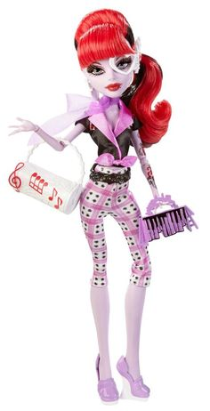 Monster High Monster Scaritage Operetta Doll and Fashion Set Only $8.09 + FREE Prime Shipping!