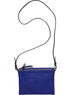 Women's Faux-Leather Crossbody Bags Product Image