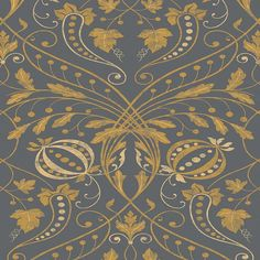 Designed by decorative painter Adam Calkin, this dramatic and open design was inspired by a fragment of a fresco wall painting found in a. Scenic Wallpaper, Wallpaper Decor, Adhesive Wallpaper, Wallpaper Samples, Traditional Home Offices, Traditional House, Home Building Design, Scenic Design, Color Stories