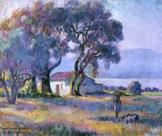Art Challenge – A Quiz Game of Famous Painters Landscape Art, Landscape Paintings, Lake Painting, Paintings I Love, Oil Paintings, Henri Matisse, Art Challenge, French Artists, Artist Art
