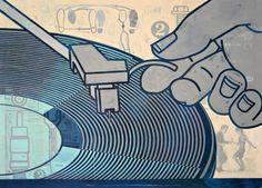 Turntable, by Nancy Stahl