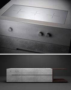 Kitchen Design Idea - Integrated Cooktop Counter | CONTEMPORIST