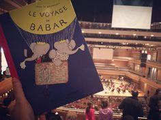 Babar célébré par l'Orchestre symphonique de Montréal  http://lesptitsmotsdits.com/babar-celebre-orchestre-symphonique-mtl/