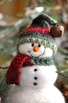 Needle Felted Snowman  2011