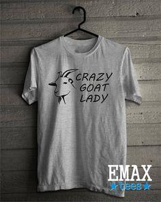 Crazy Goat Lady Shirt Goat Shirt Funny Tshirt Farm Country