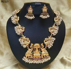 To buy please WhatsApp on 9703870603 #jewellery #mattfinish #Jhumkas #Earrings #Bhajuband #Hipbelts #Tikka #Champaswaralu #1gramjewellery #guarentee #necklace #kasulaperu #CZNecklace #bridalsets #pendantwithearrings #pendantsets #CZSets #blackbeads #onegramjewellery #onegram #Southindianjewellery #Bangles #newcollection