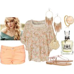 """""""Frilly & Floral"""" by qtpiekelso on Polyvore"""