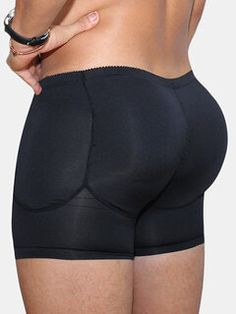 Men Breathable Butt Lift Underwear BodyBuilding Compression Boxer Detachable Pads Padded Underwear is best and cheap on Newchic Mobile. Bodybuilding, Briefs Underwear, Boxer Briefs, Mesh Underwear, Seamless Underwear, Nice Buttocks, Man Pad, Waist Trainer Corset, Sport Casual