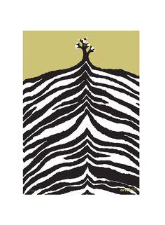 Zebra Print by Kustaa Saksi for Artek